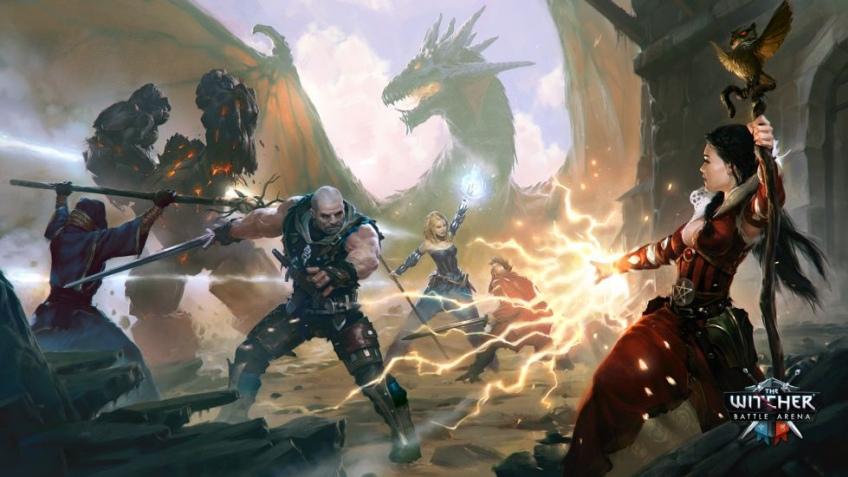 CD Projekt показала геймплей The Witcher Battle Arena