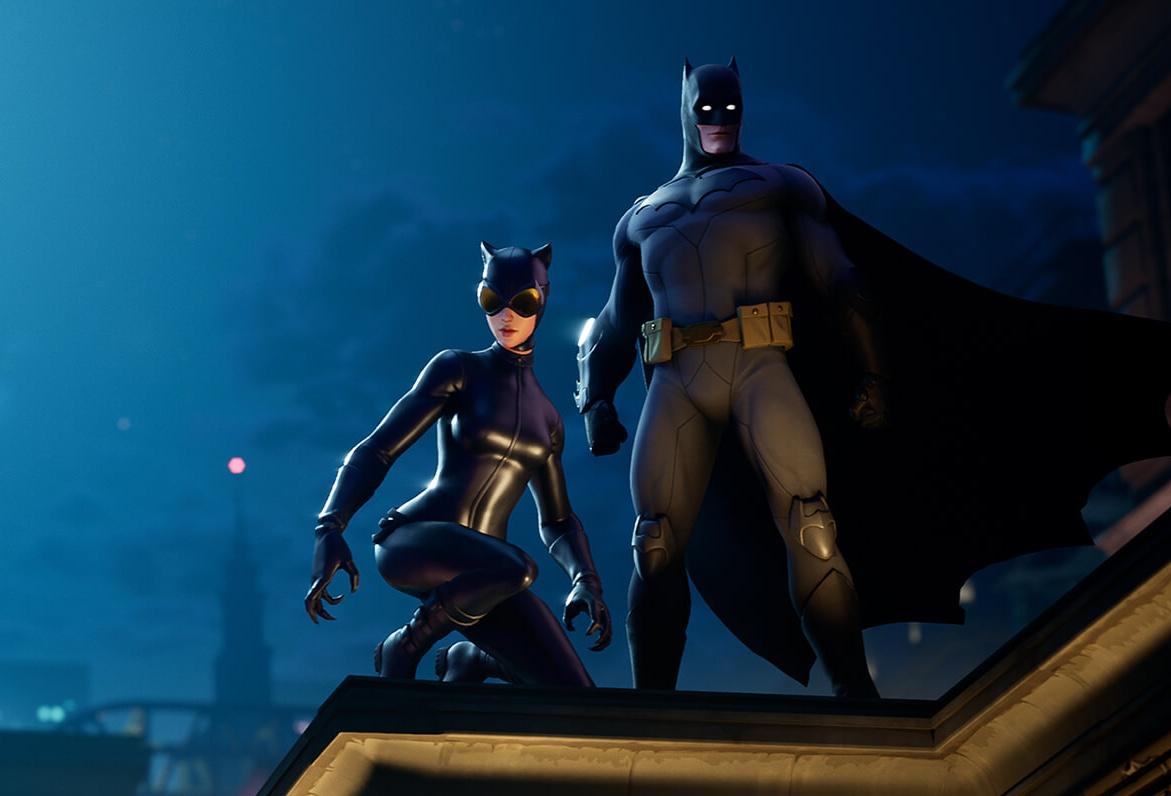 В Fortnite начался кроссовер с Бэтменом — в игре появился Готэм