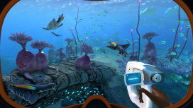 К Subnautica: Below Zero выпустили расширение Relics of the Past