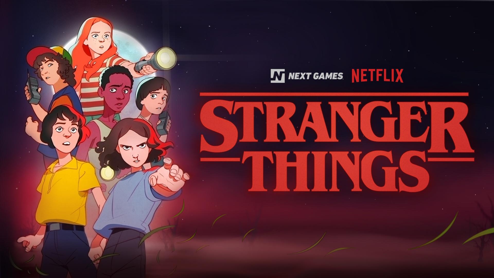 В 2020-м Netflix выпустит мобильную RPG по «Очень странным делам»