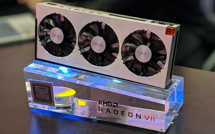 Опубликованы результаты официальных тестов видеокарты AMD Radeon VII