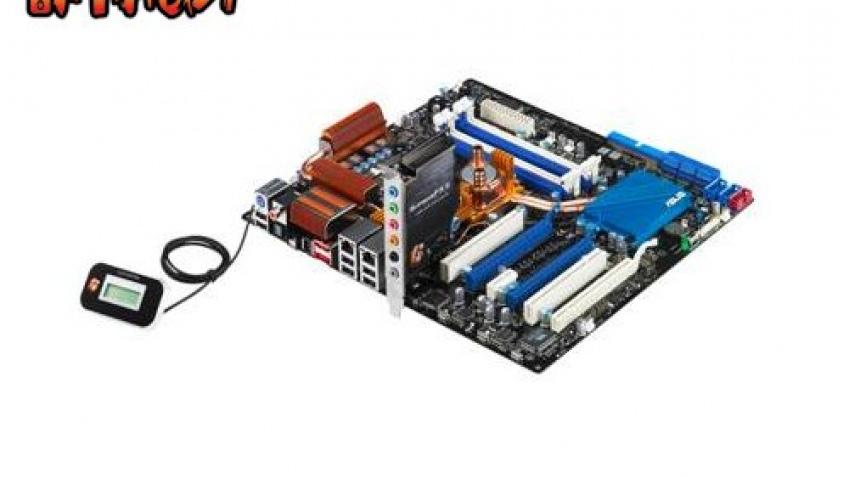 Плата от ASUS на основе Intel X38