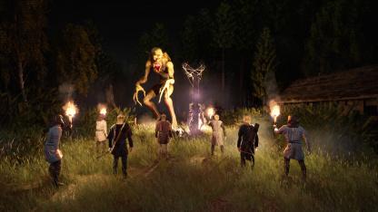Человеческие жертвоприношения в первом трейлере Pagan Age