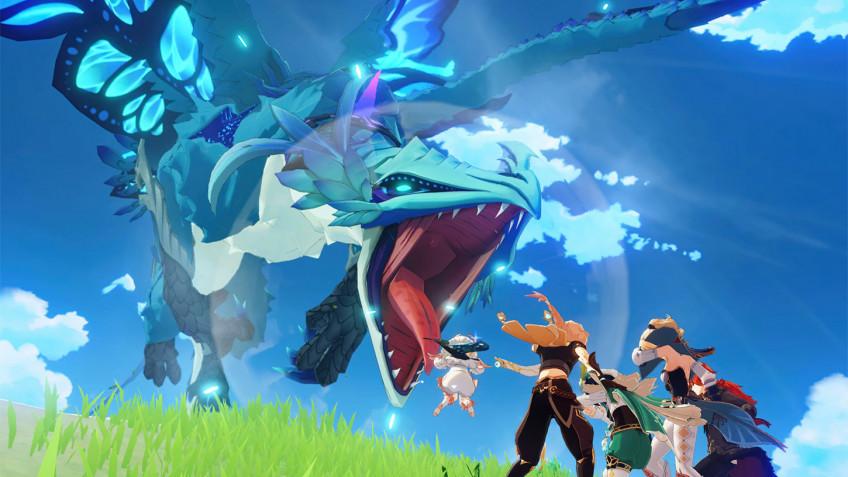Авторы Genshin Impact показали почти8 минут игры на PlayStation5