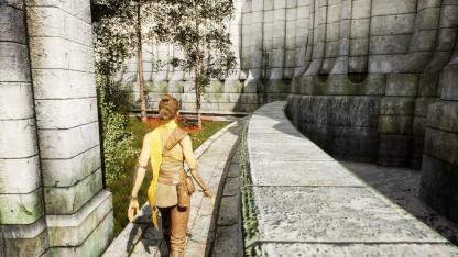 Обновлённый Коррол показали на свежих кадрах фанатского ремейка Oblivion на UE5