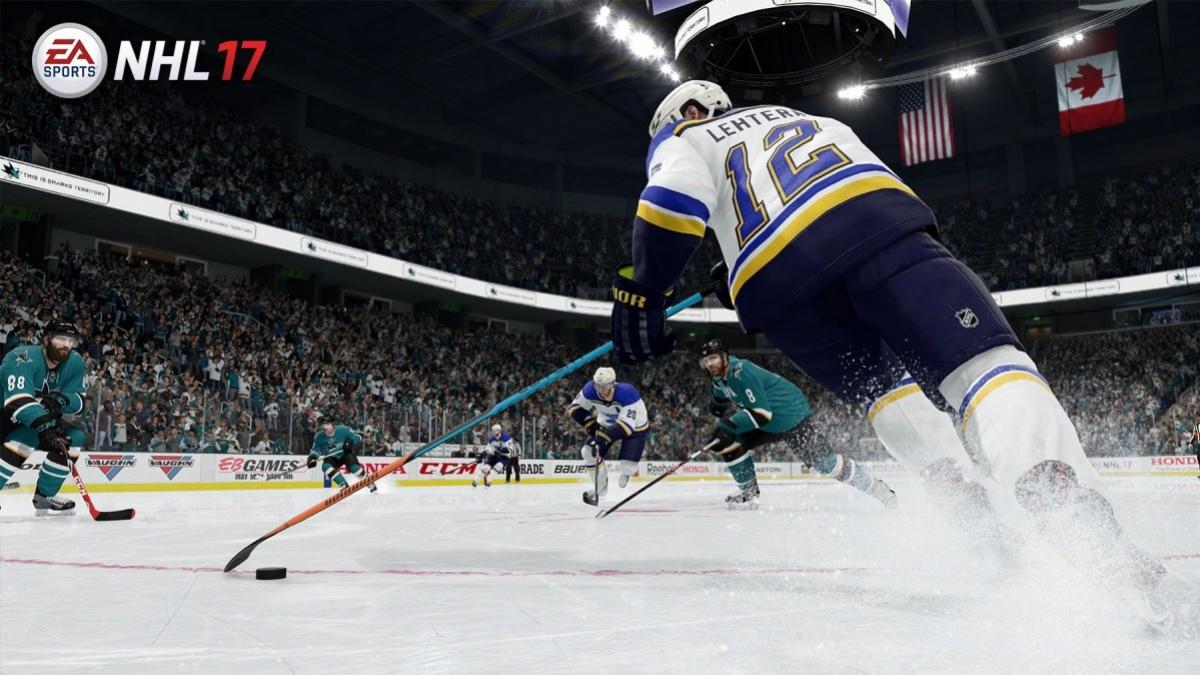 Разработчики NHL17 рассказали о новшествах игры