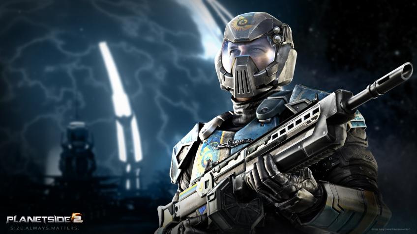 PlanetSide2 протестируют на PS4 на следующей неделе
