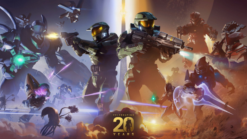 Microsoft до ноября будет праздновать 20-летие Xbox и Halo