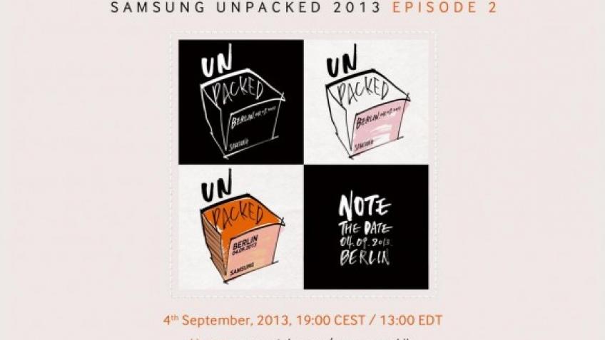 Samsung Galaxy Note 3 могут анонсировать 4 сентября