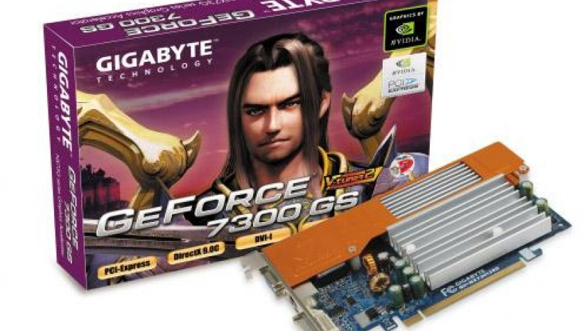 7300GS в исполнении Gigabyte