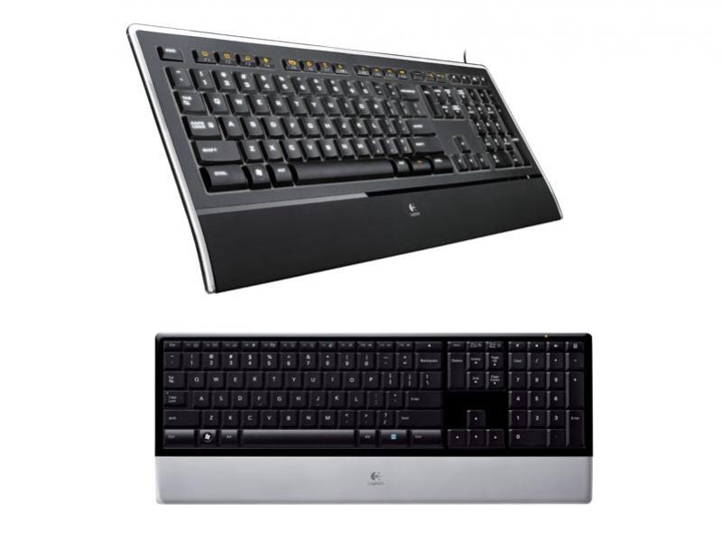 Две клавиатуры от Logitech