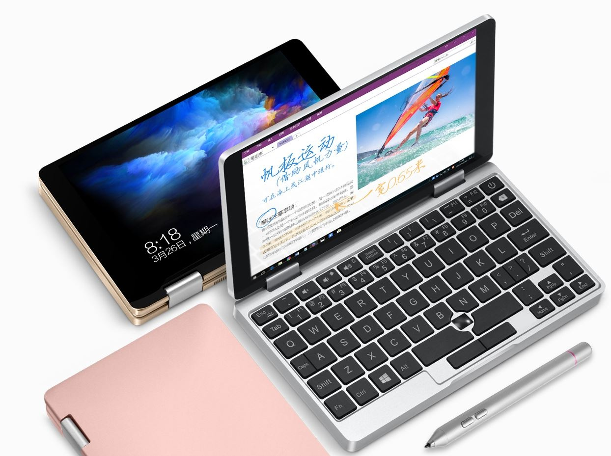Liliputing: новый мини-ноутбук One Mix X получит процессор Intel Core 10-го поколения