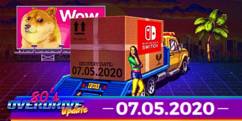 Ретро-гонки 80's Overdrive выпустят на Nintendo Switch