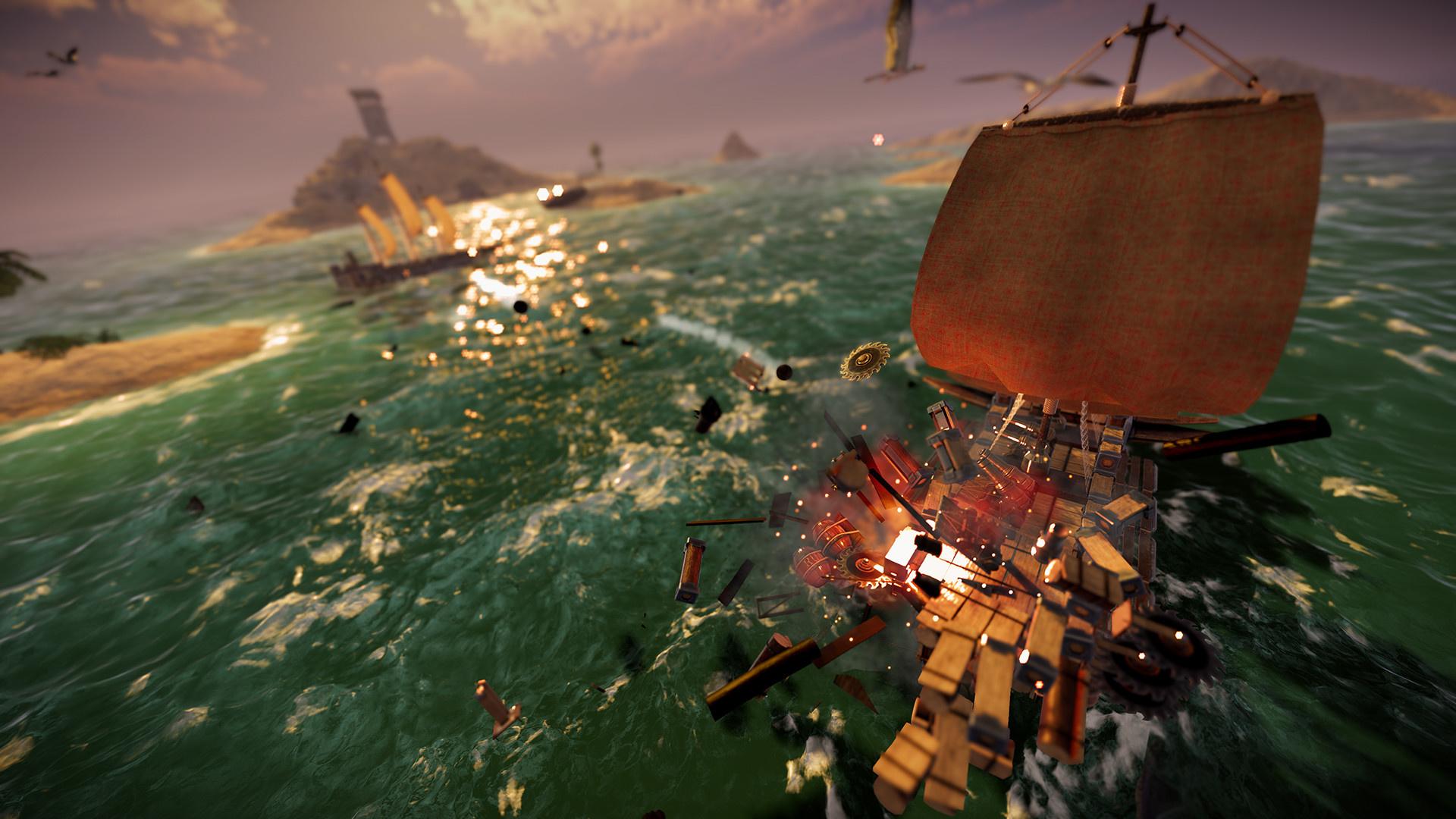 Демоверсия Sea of Craft будет доступна в рамках летнего фестиваля Steam