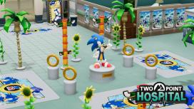 В Two Point Hospital появился Соник с друзьями и предметы из Sonic the Hedgehog