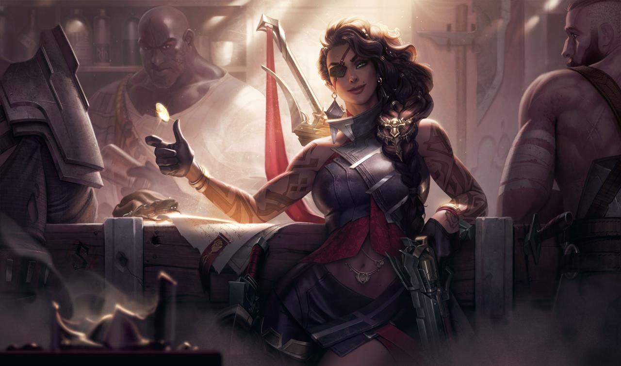 Авторы League of Legends представили геймплей за Самиру