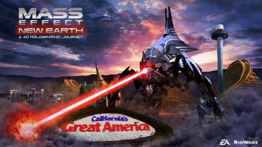 В США откроют аттракцион по мотивам Mass Effect