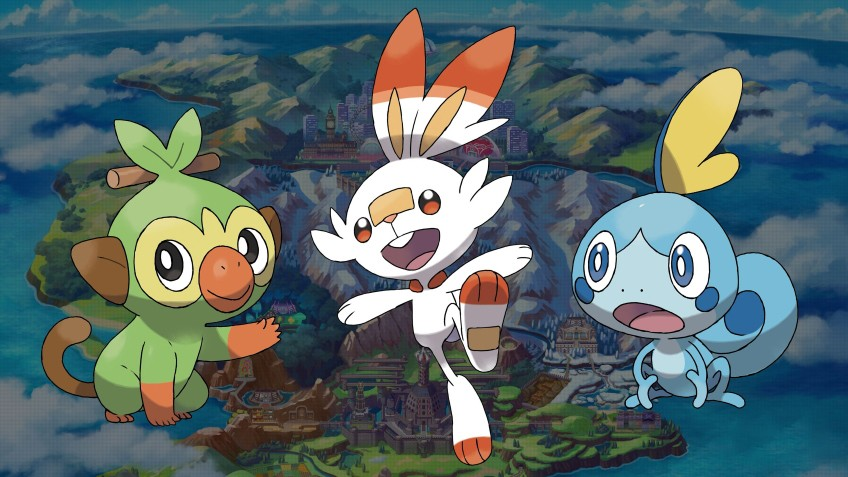 Геймплейный трейлер к выходу Pokemon Sword и Pokemon Shield