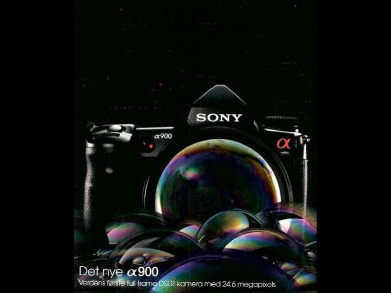 Sony готовит Full-Frame DSLR