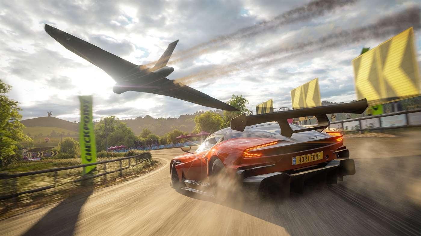 Завтра в Forza Horizon4 появится королевская битва на72 игрока