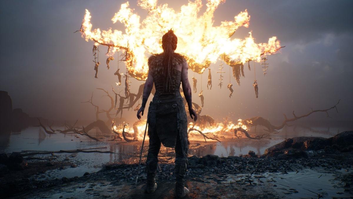 Разработчики Hellblade: Senua's Sacrifice показали панорамный трейлер