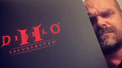 Дэвид Харбор отказался от всего ради Diablo II: Resurrected