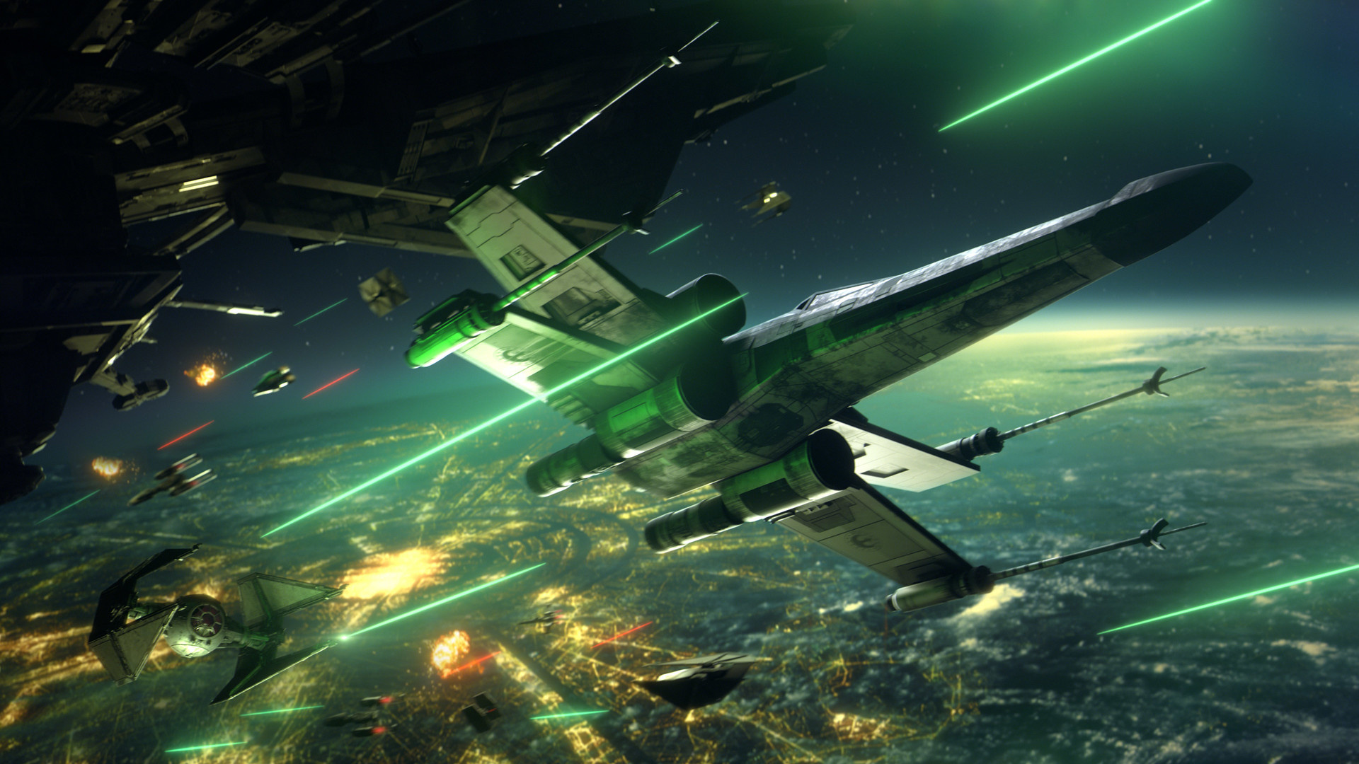 Первые превью Star Wars Squadrons: «Хаотично, увлекательно и очень сложно»