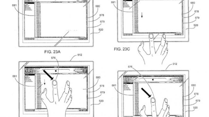 Apple готовит сенсорный планшет?