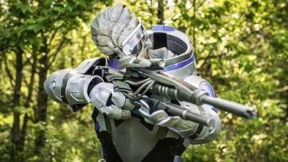 Если вы соскучились по первым трем Mass Effect: отличный косплей Гарруса