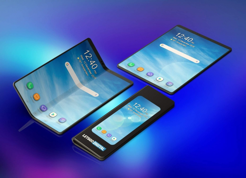 Слухи: складной смартфон Samsung получит два аккумулятора
