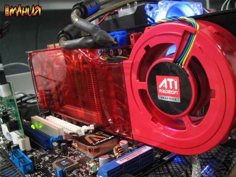 Разгром Radeon HD 2900 XTX