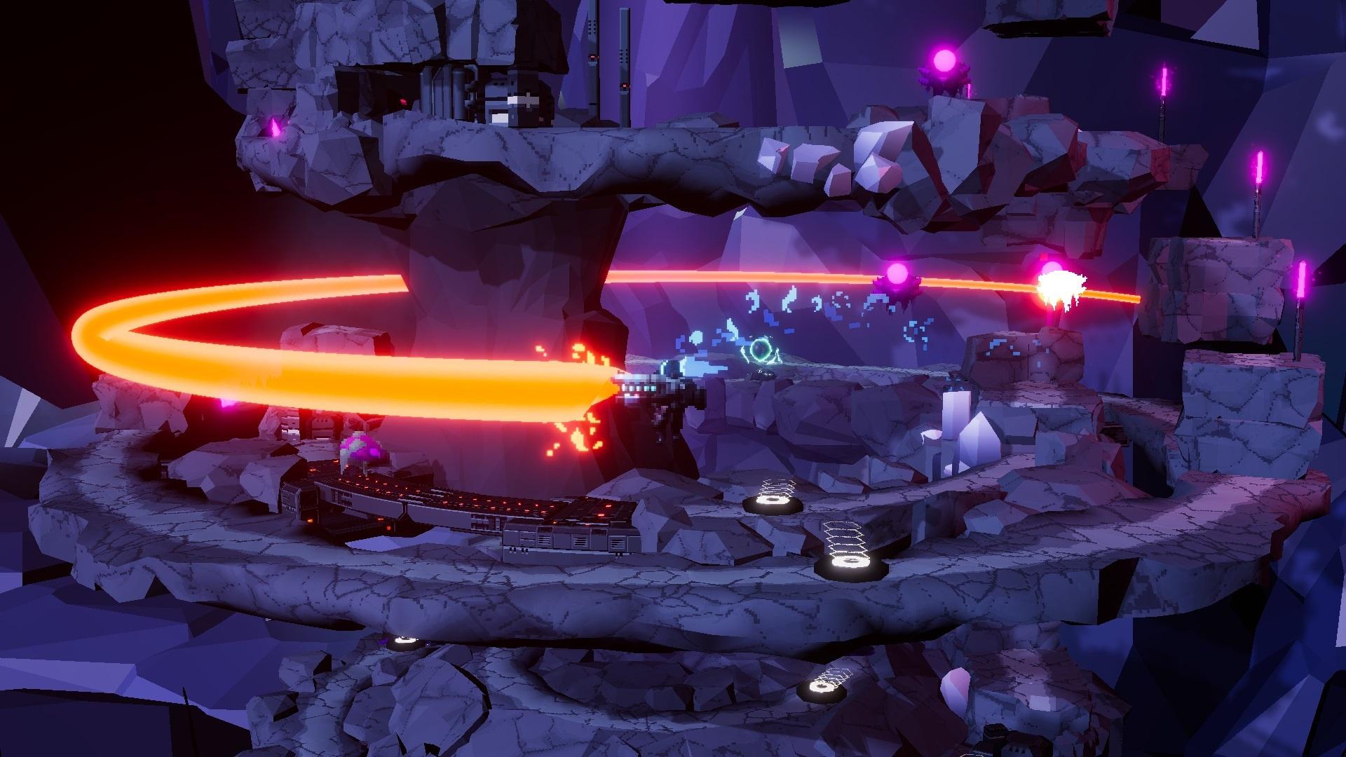 «Круговой» рогалик Orbital Bullet выходит в ранний доступ22 апреля