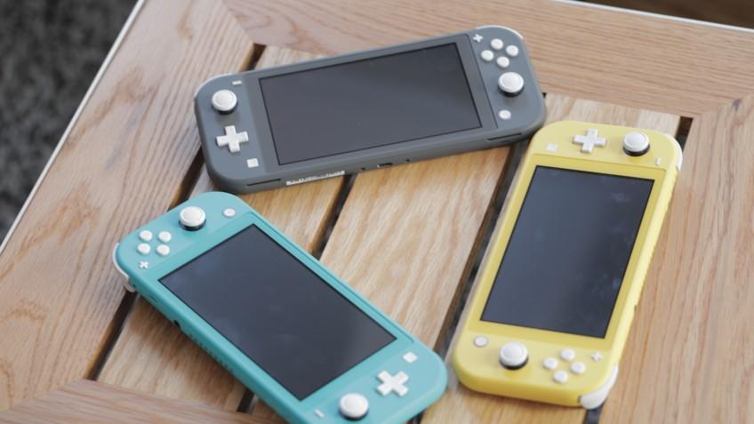 Журналисты попробовали в деле Nintendo Switch Lite