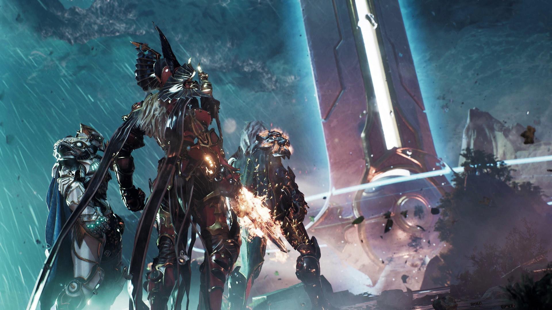 Несколько секунд геймплея Godfall — первой игры для PlayStation5