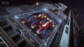 К Elite Dangerous вышло обновление Fleet Carriers