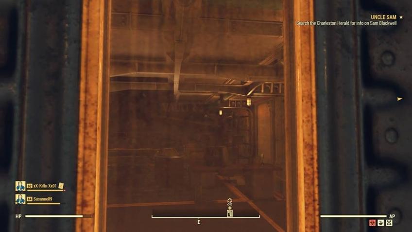 Игрок Fallout76 случайно попал в закрытое Убежище-63 из-за бага