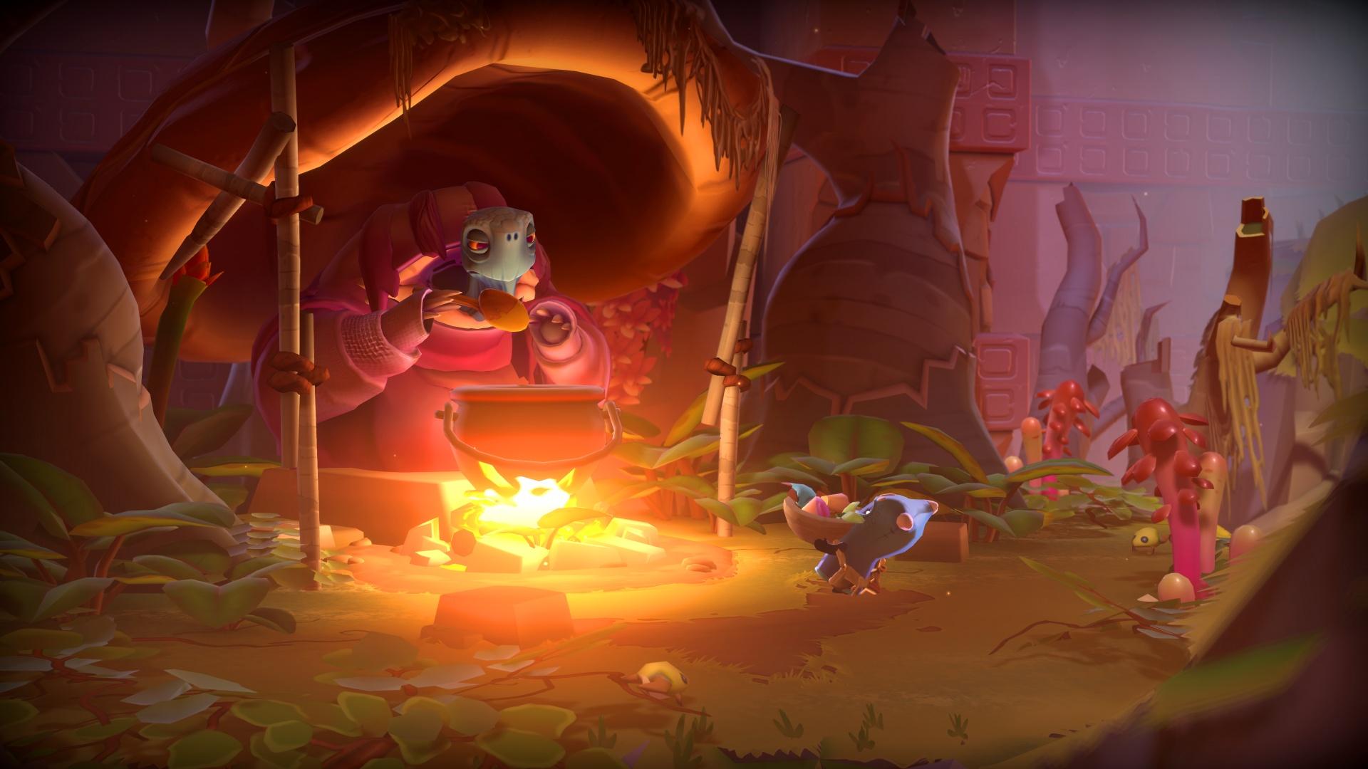 Авторы No Man's Sky показали новый трейлер приключения The Last Campfire