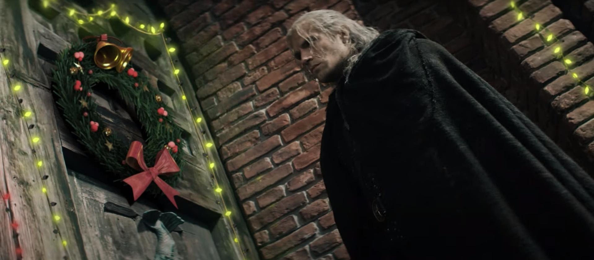 «Ведьмака» превратили в «рождественскую» историю в свежем ролике