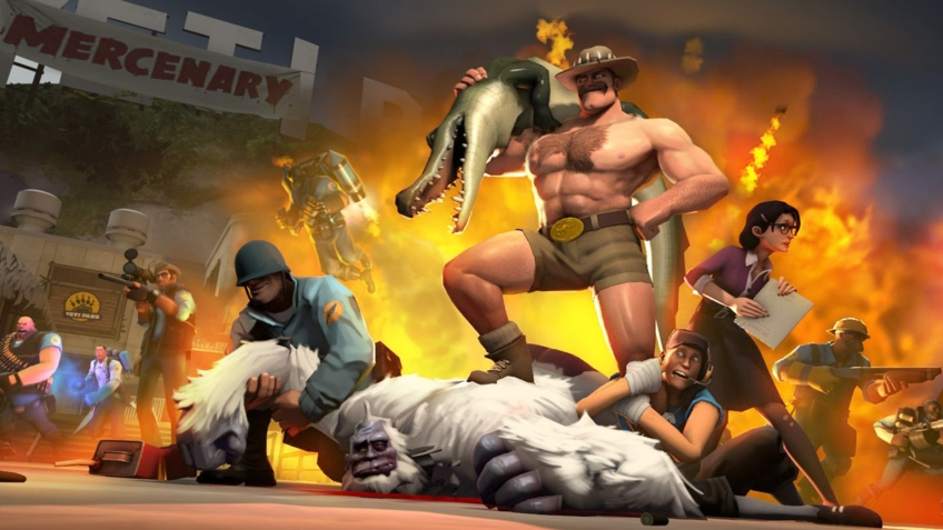 Team Fortress2 получит крупное обновление Jungle Inferno