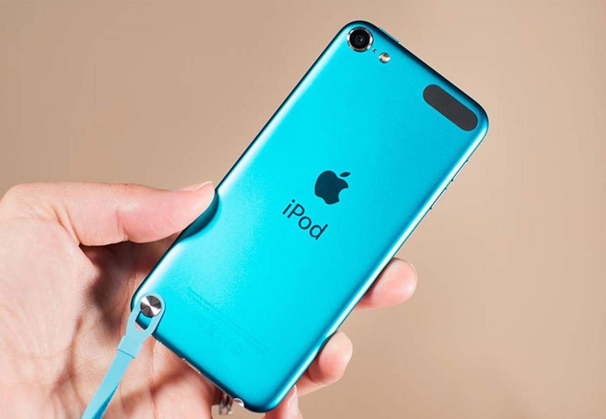 Возможно, так будет выглядеть iPod Touch седьмого поколения