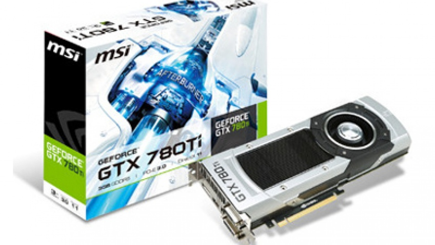 MSI представила видеокарту GeForce GTX 780Ti