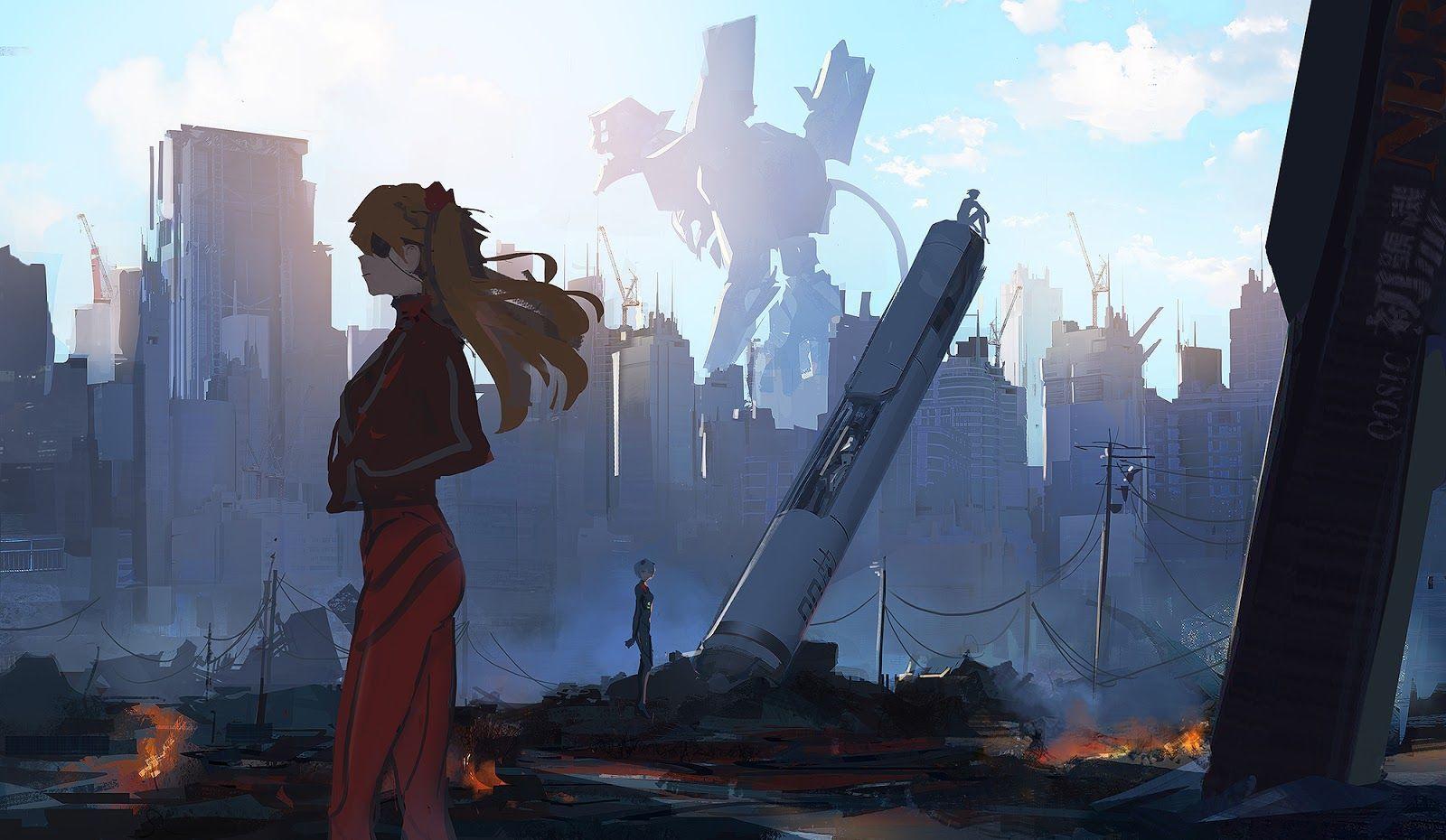 Evangelion:3.0+1.0 Thrice Upon a Time выйдет на экраны8 марта