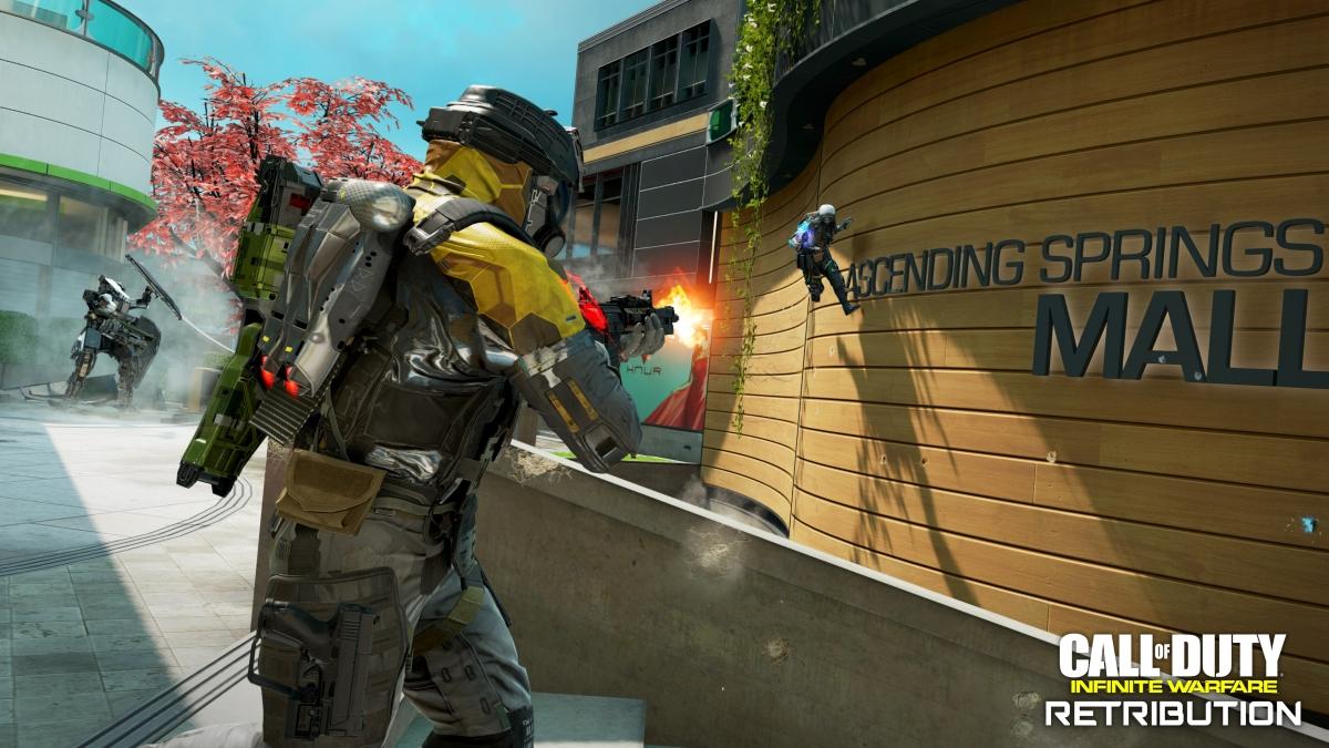Авторы Call of Duty: Infinite Warfare рассказали о дополнении Retribution