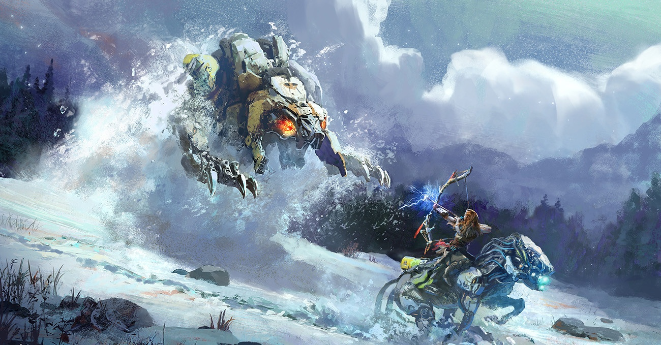 В Monster Hunter World: Iceborne пройдёт кроссовер с Horizon Zero Dawn: The Frozen Wilds