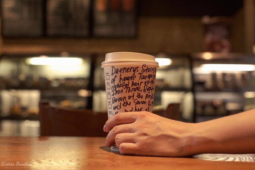 Модеры добавляют в Skyrim стаканчики Starbucks из «Игры престолов»