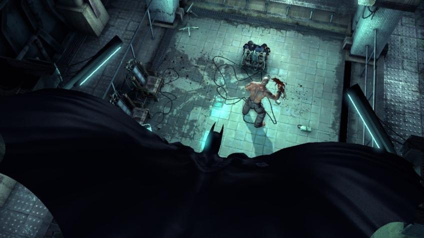 Безумная ночь в Batman: Arkham Asylum