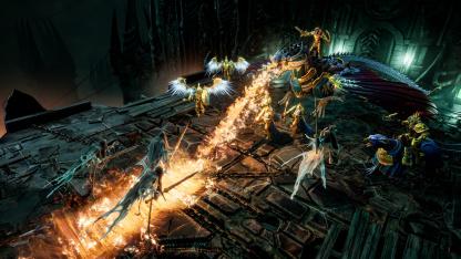 Авторы Warhammer Age of Sigmar: Storm Ground показали15 минут геймплея