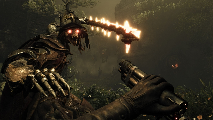 Авторы Witchfire показали12 секунд геймплея — наследник Painkiller выйдет по готовности