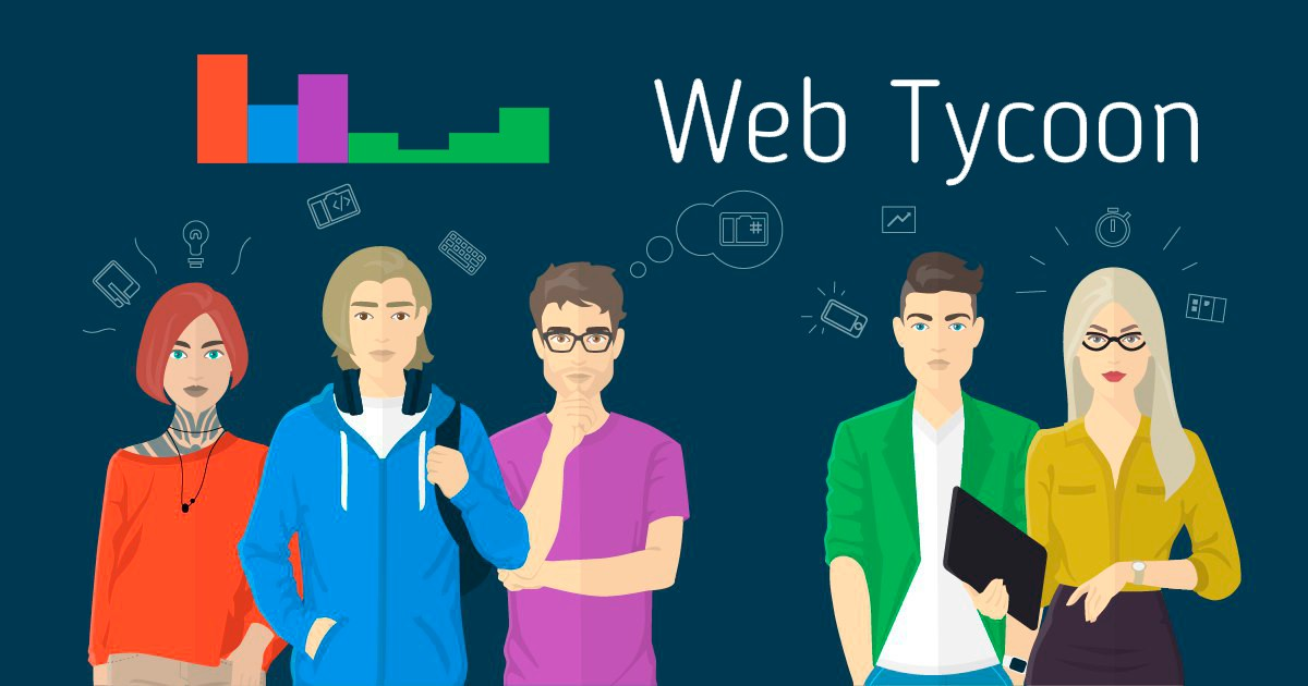 Создатели uCoz выпустили игру про веб-разработку Web Tycoon