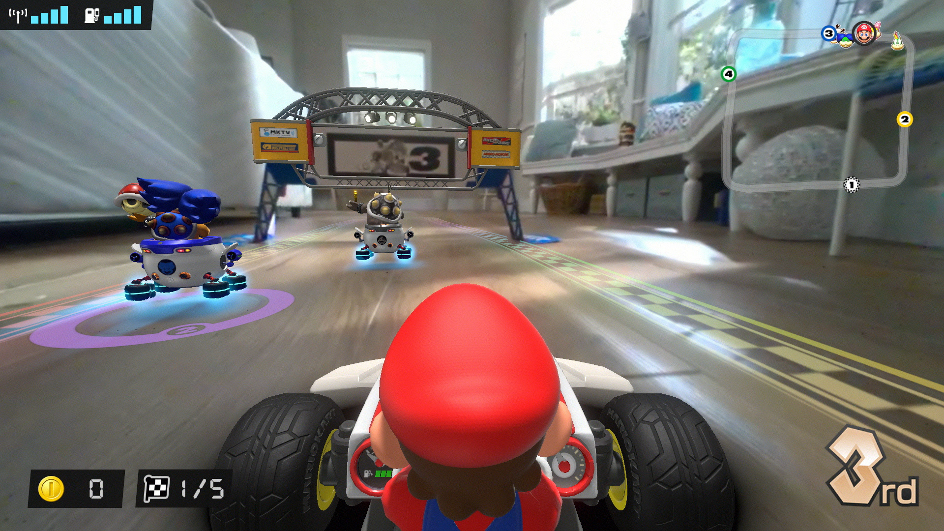 Mario Kart Live: Home Circuit лидирует в рознице Японии, а FIFA21 опустилась на7 позицию